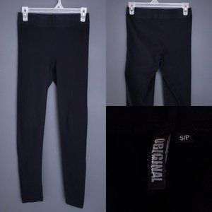 NICOLE MILLER Leggings Stretch Fitted Black S